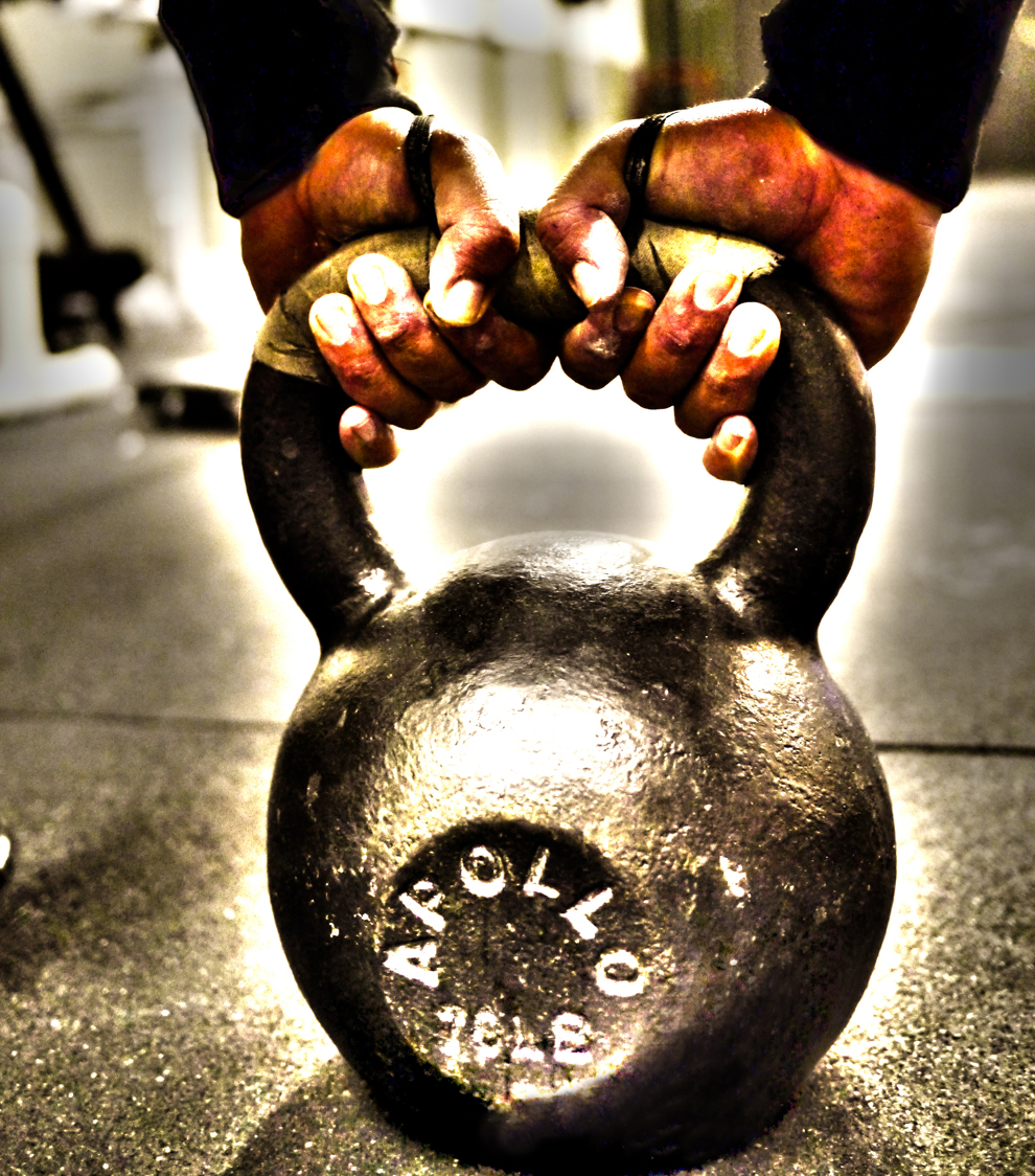 Kettlebell Training Benefits: Red X CrossFit